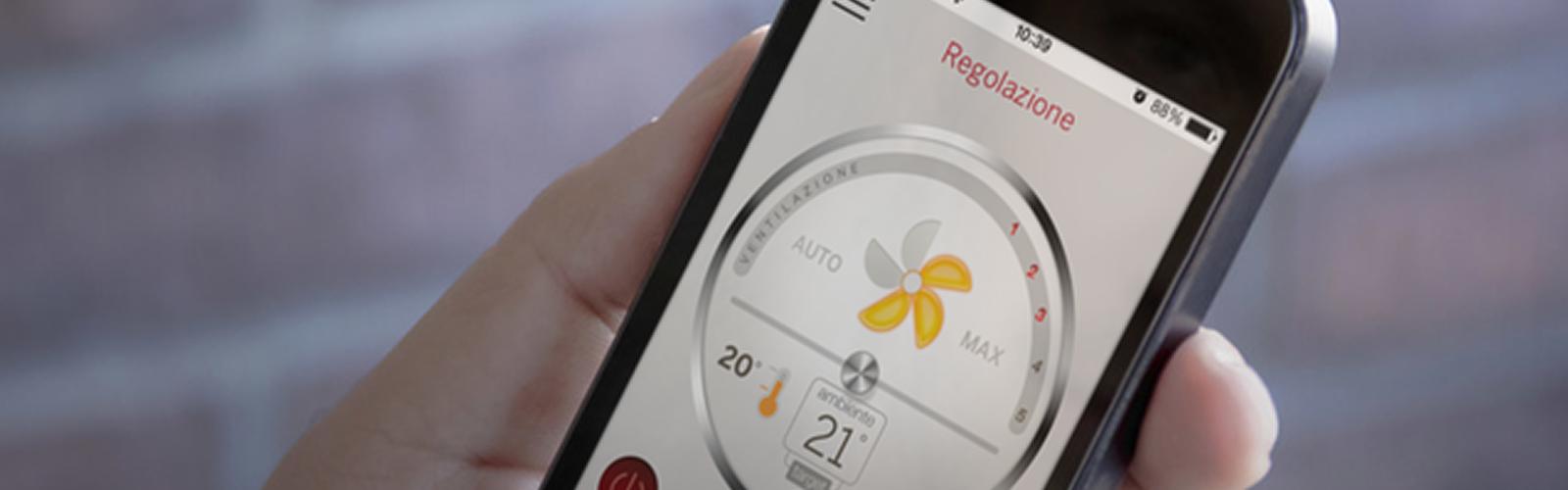 Stufe connesse con un'app: la sfida di Palazzetti è tutta Made in Italy