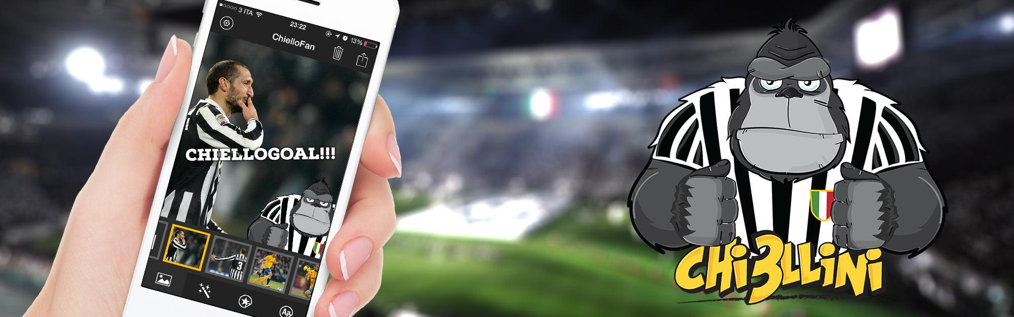 Iquii presenta ChielloFan: l'App per scendere in campo con Giorgio Chiellini