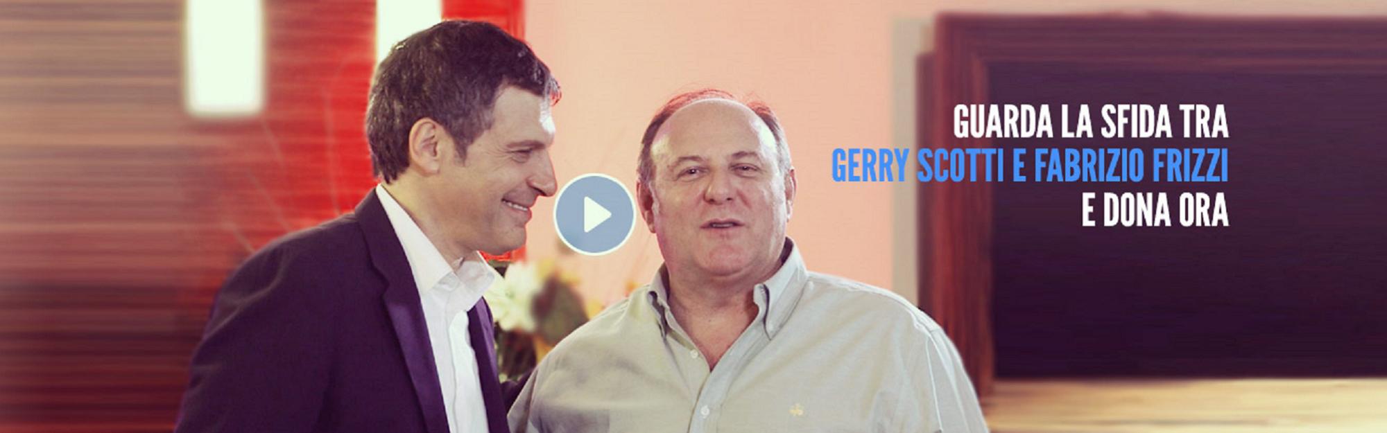 Google Glass e quiz in TV: Gerry Scotti e Fabrizio Frizzi a supporto di #Charityviral