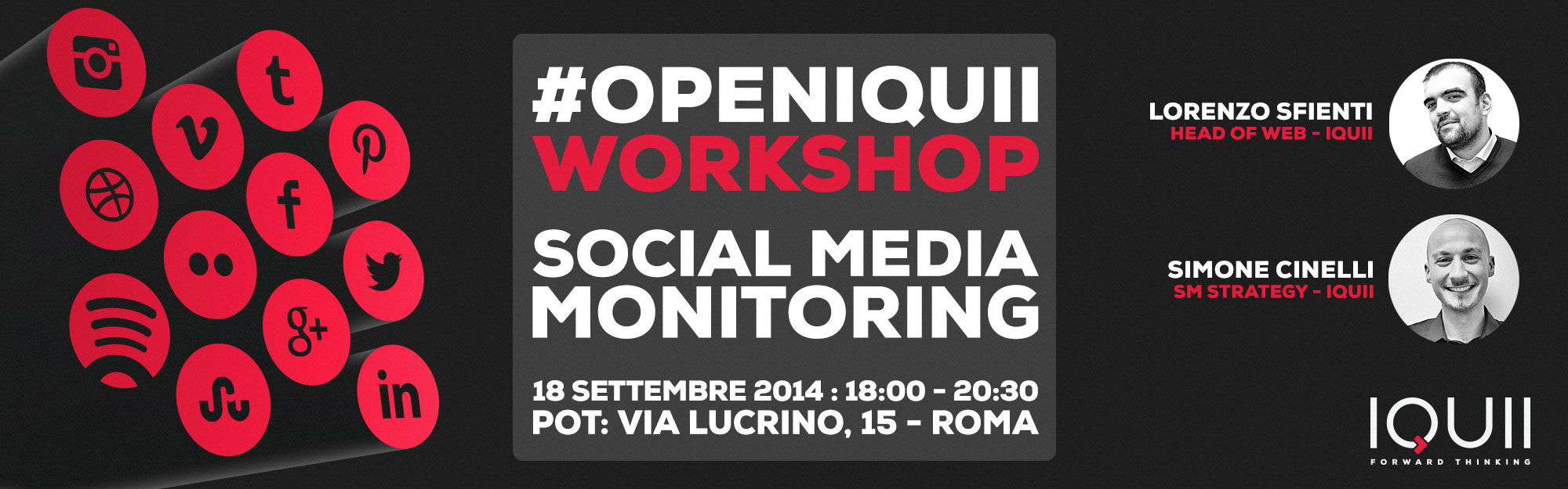 #OpenIQUII – Workshop Social Media Monitoring