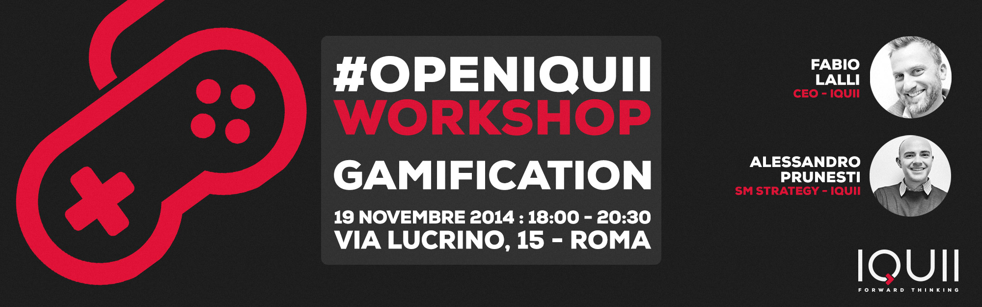 #openIQUII – Workshop Gamification & Loyalty