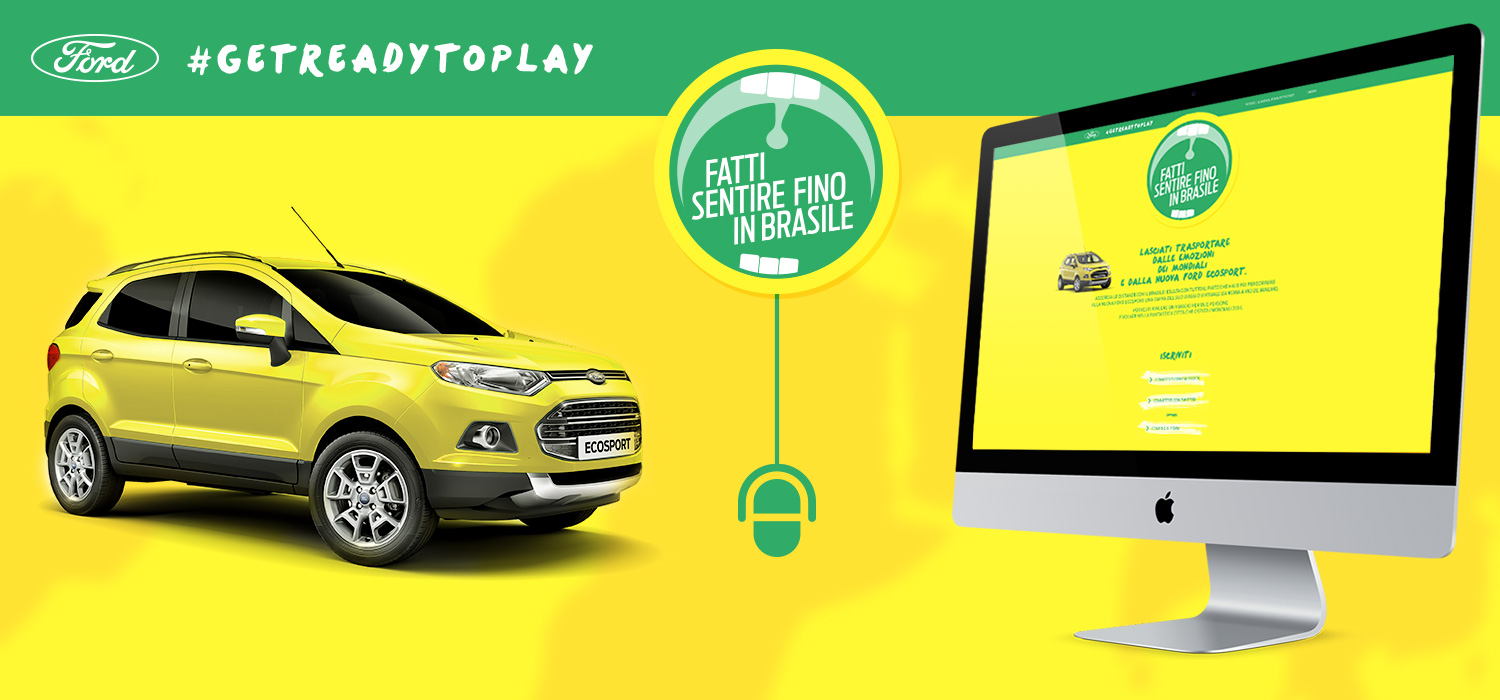 Get Ready To Play - Ford Italia