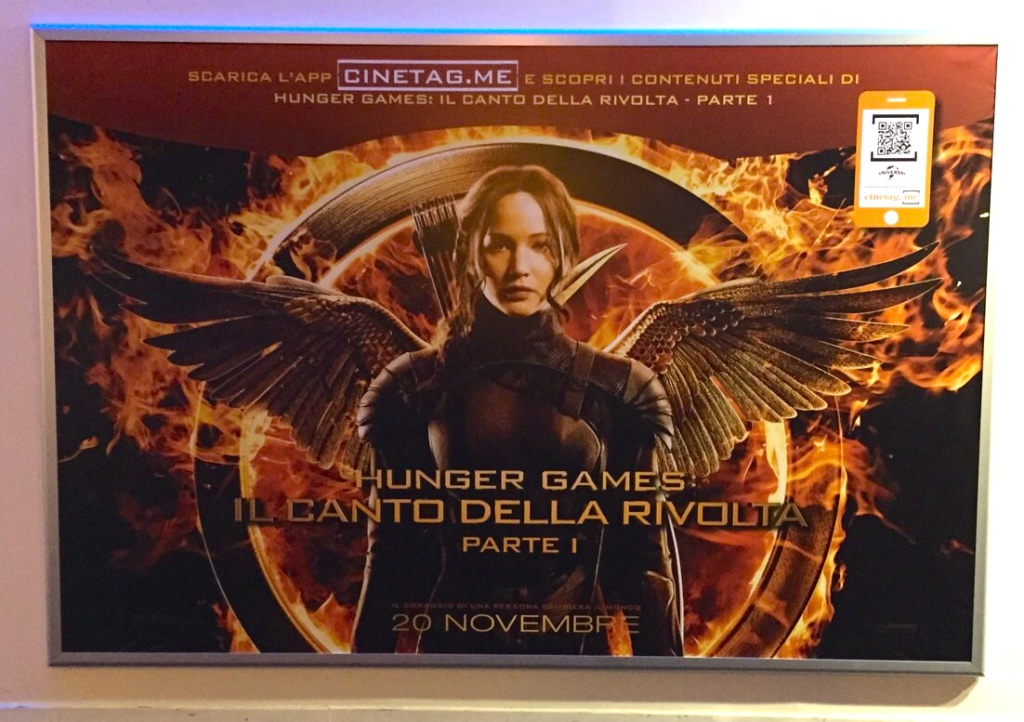 CineTag e The Hunger Games
