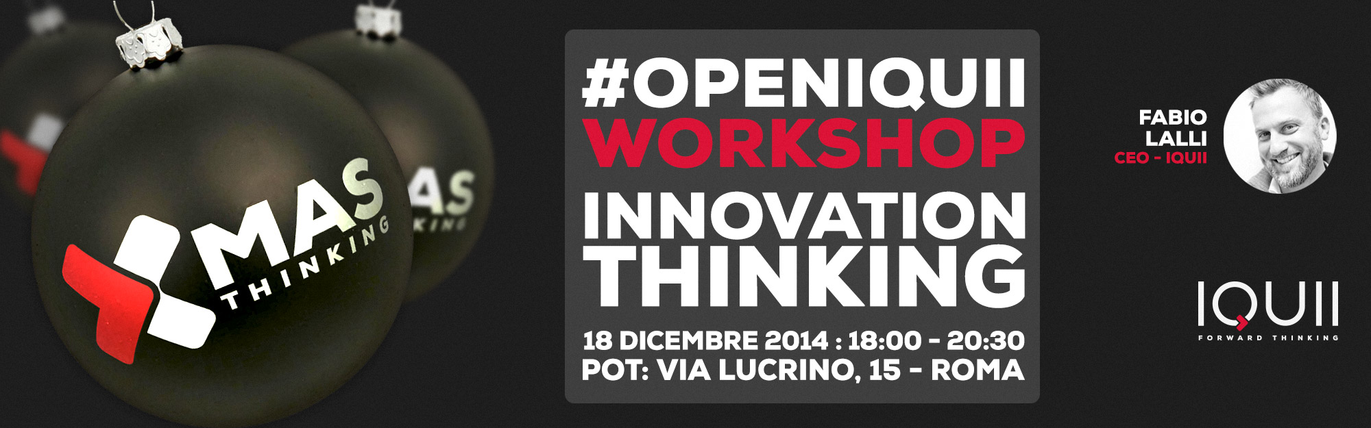 #openIQUII – Workshop Innovation Thinking