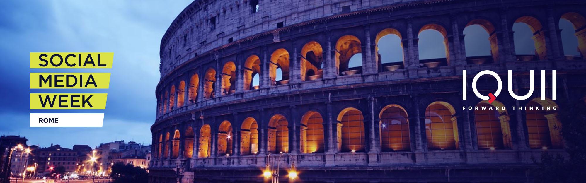 IQUII porta l'App Marketing alla Social Media Week Rome