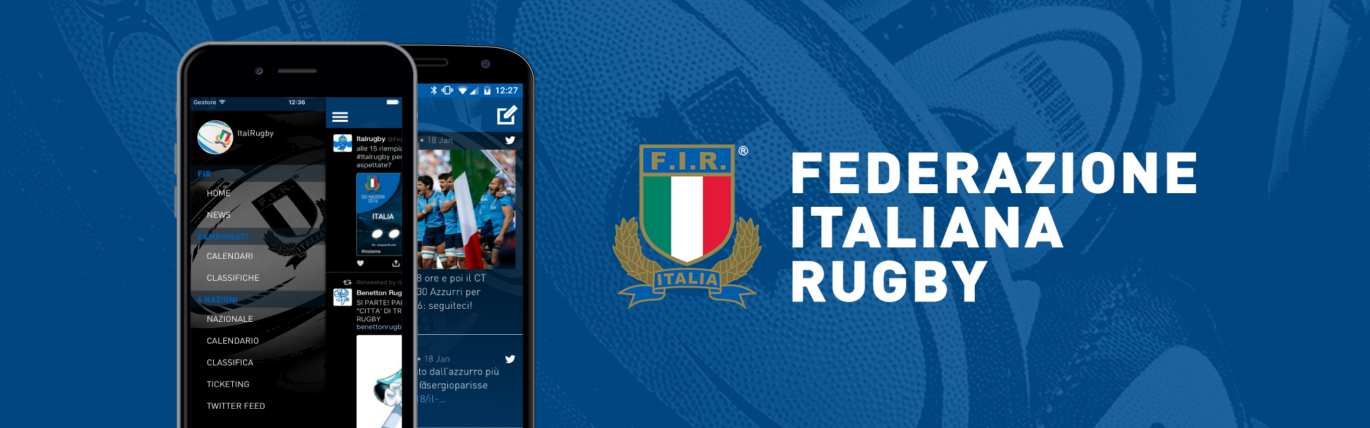 La FIR va in meta con IQUII, disponibile l'app ufficiale di Federugby per iOS e Android