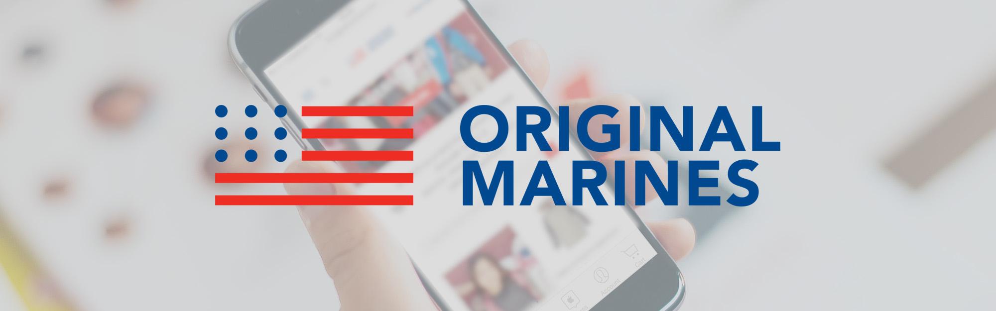 Original Marines sceglie IQUII per affrontare il passaggio al mobile nel 2016