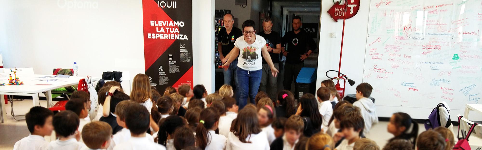 Quriosity Camp: il workshop per bambini sul mondo delle app