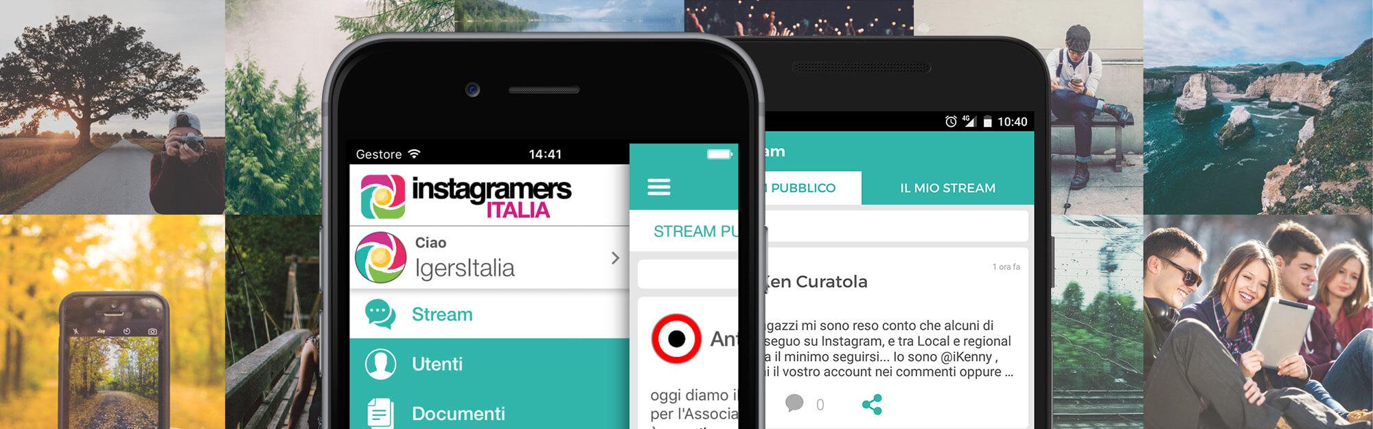 Creare valore con il Mobile per Organizzazioni e Community Verticali: l'app Igersitalia