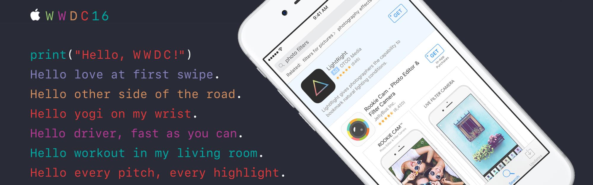 WWDC 2016: App Store e le novità su Review, Subscription Model e Search Ads