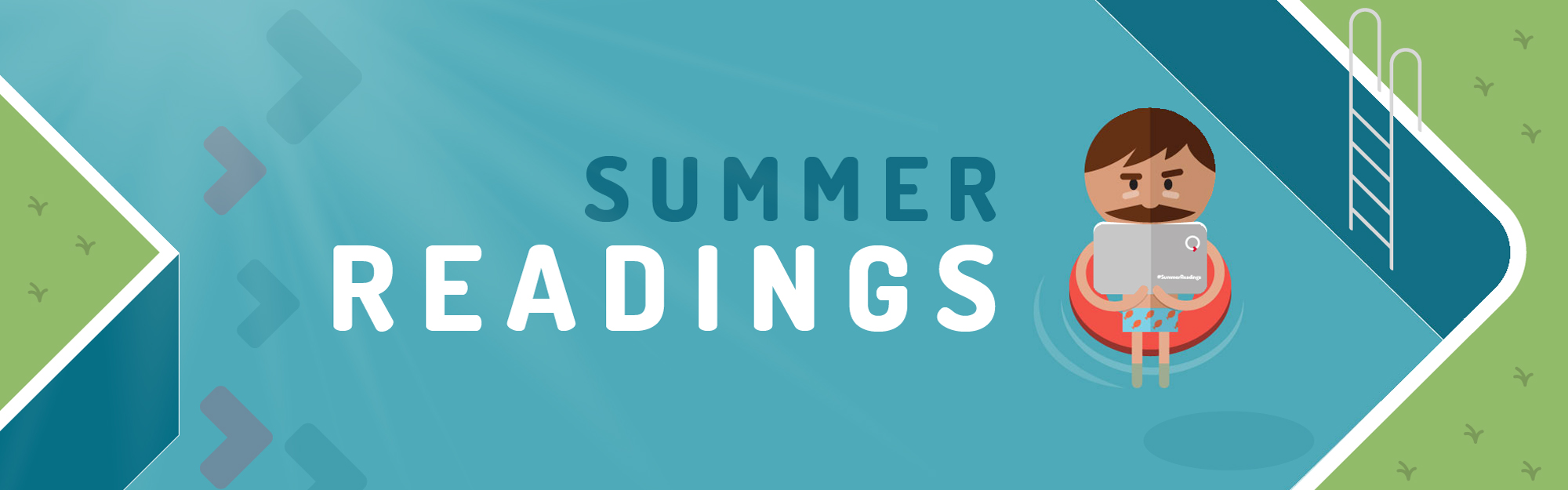 Summer Readings: qualche lettura dal team IQUII per un'estate tech e digital sotto l'ombrellone