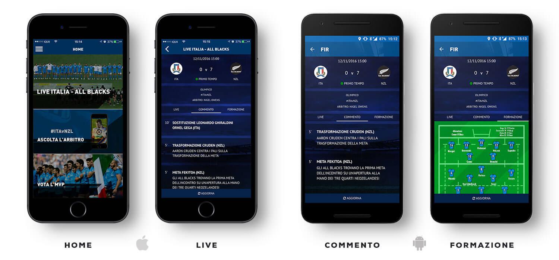 FIR App - Federazione Italiana Rugby