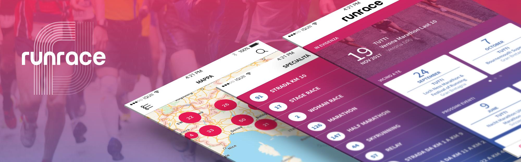 Calendario Maratone Internazionali.Runrace App Nuovo Design L Esperienza Del Running E Gli