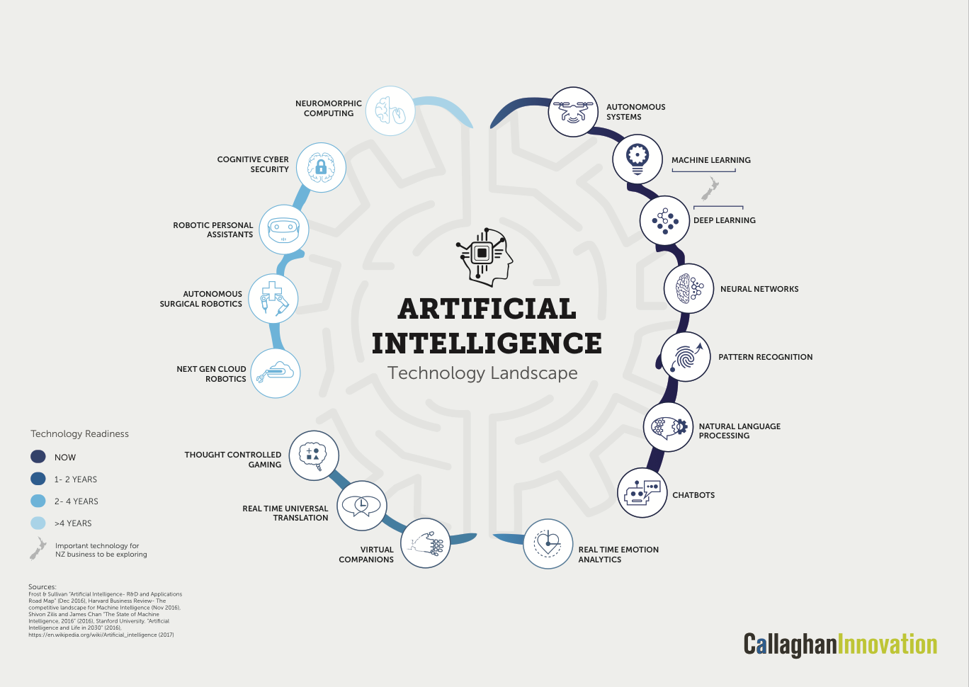 Callaghan Innovation AI Map