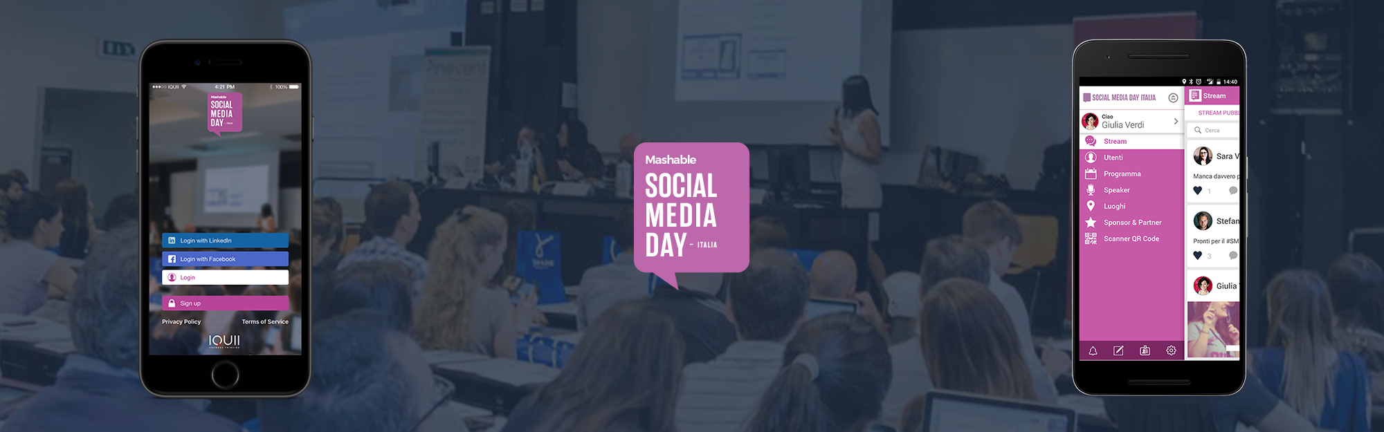 IQUII porta EventXP al Mashable Social Media Day Italia
