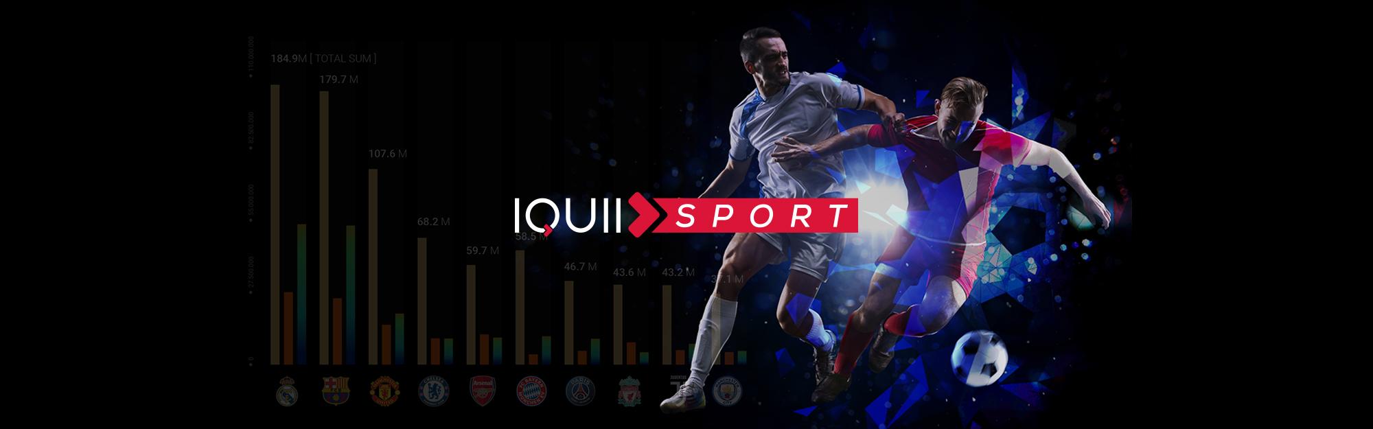 """Disponibile """"European Football Club"""", il report di IQUII sul calcio europeo con dati esclusivi su 5 nazioni"""