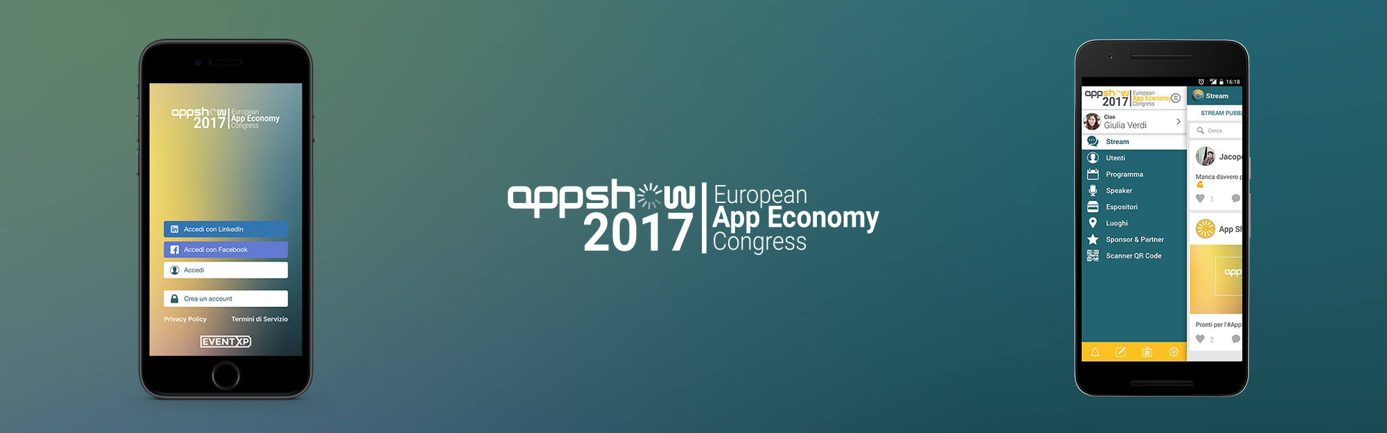 IQUII porta EventXP ad AppShow 2017, il primo congresso europeo sull'App Economy