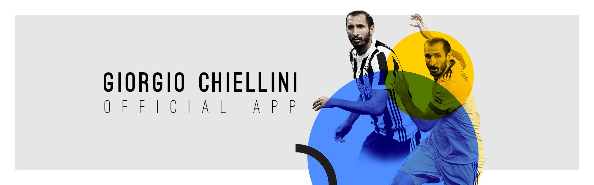 IQUII Sport lancia la nuova Official App di Giorgio Chiellini