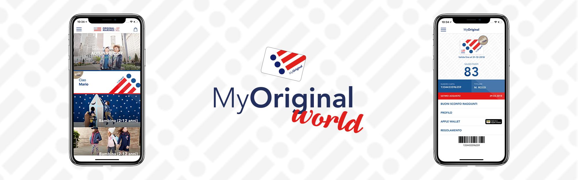 Original Marines sceglie IQUII Retail per lanciare il nuovo programma loyalty MyOriginal