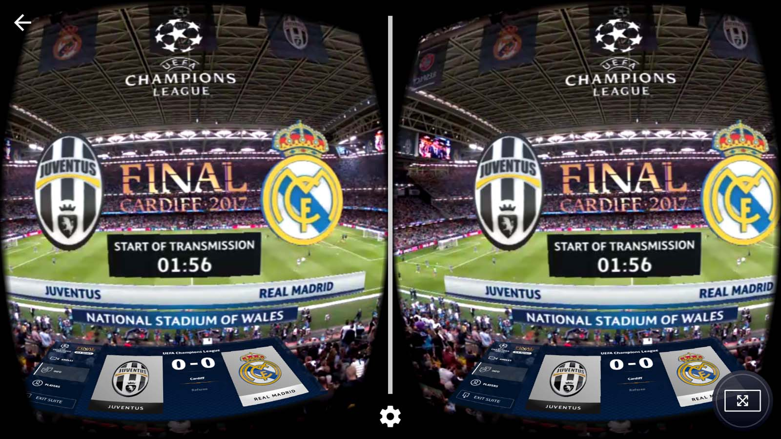 IQUII - 5G - UEFA Champions League