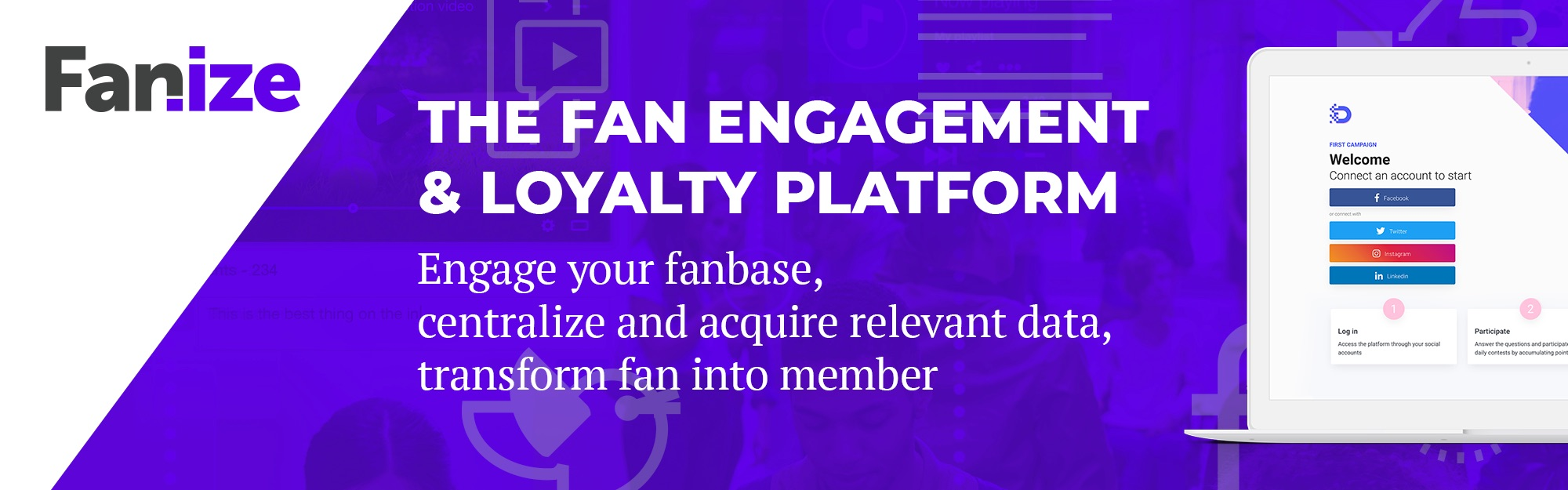 IQUII lancia Fanize, piattaforma di relationship e loyalty management per valorizzare il rapporto con la fan base e trasformare il fan in member