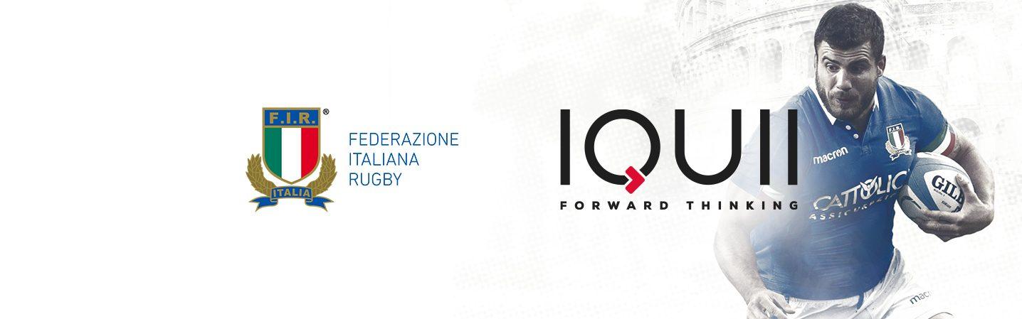 La Federazione Italiana Rugby e IQUII ancora insieme: siglata la partnership ufficiale per i prossimi tre anni