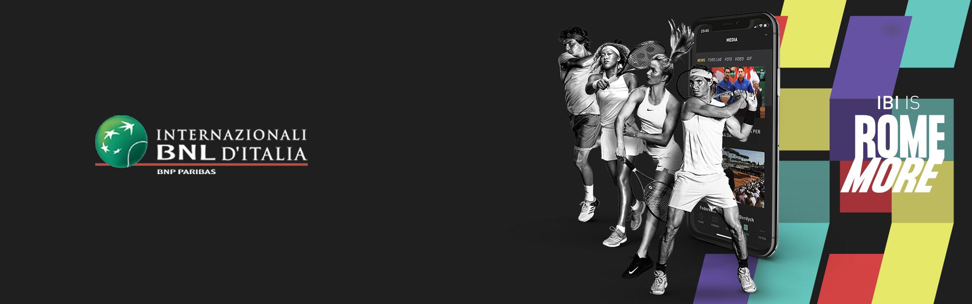 Al via gli Internazionali BNL d'Italia: IQUII è Official Digital Partner della Federazione Italiana Tennis con l'app #IBI19