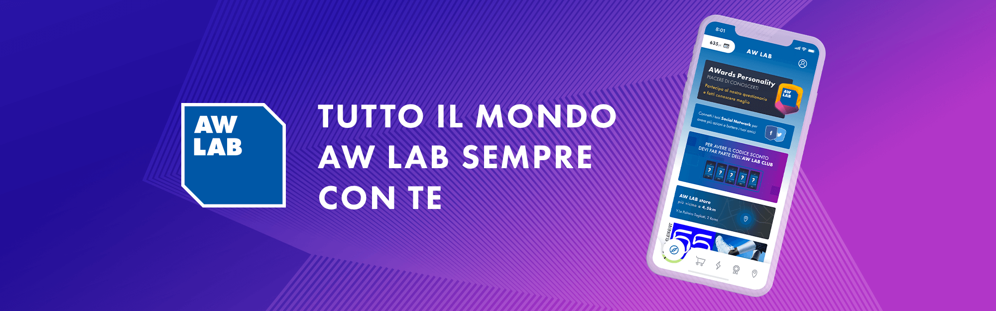 AW LAB evolve la sua loyalty con l'integrazione di Fanize, la fan engagement platform di IQUII