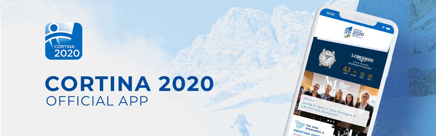 Fondazione Cortina 2021 e IQUII ancora insieme: una nuova app per le Finali di Coppa del Mondo Cortina 2020