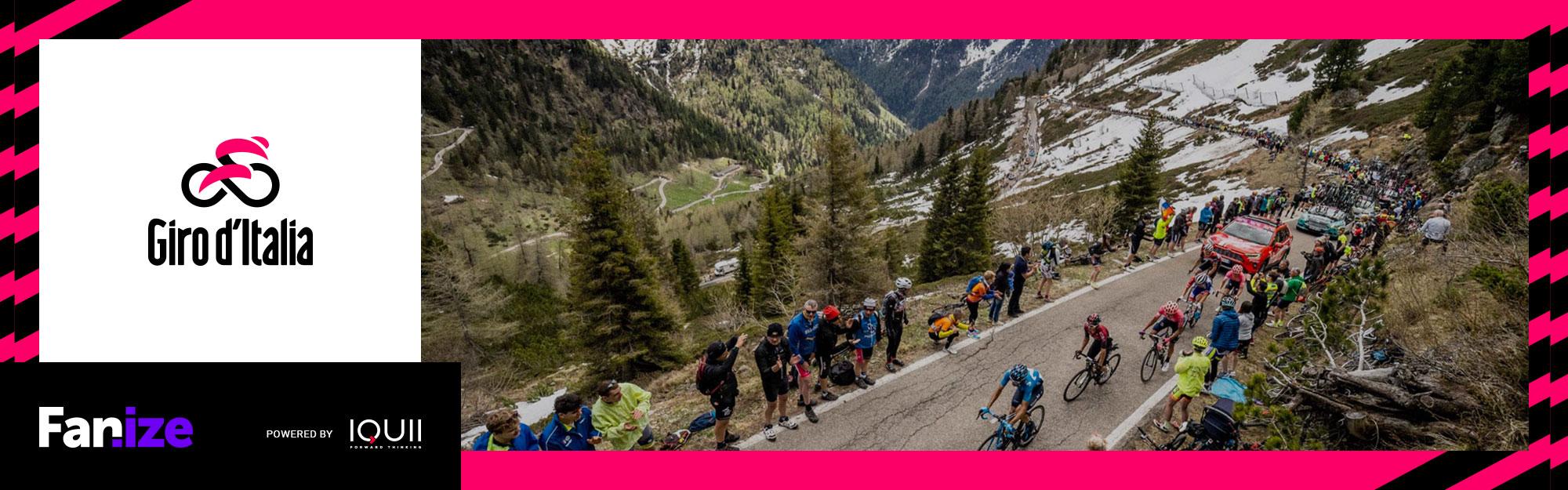 Gioca e vinci con il Giro d'Italia. RCS Sport e IQUII insieme per la Corsa Rosa