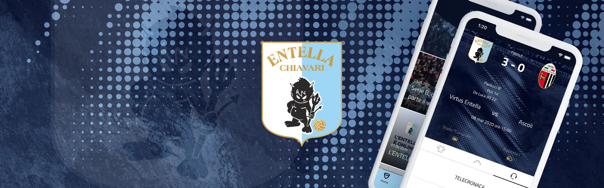 Virtus Entella e IQUII lanciano la Sport Platform per valorizzare l'esperienza di fan e partner del club. Nasce la nuova App biancoceleste.
