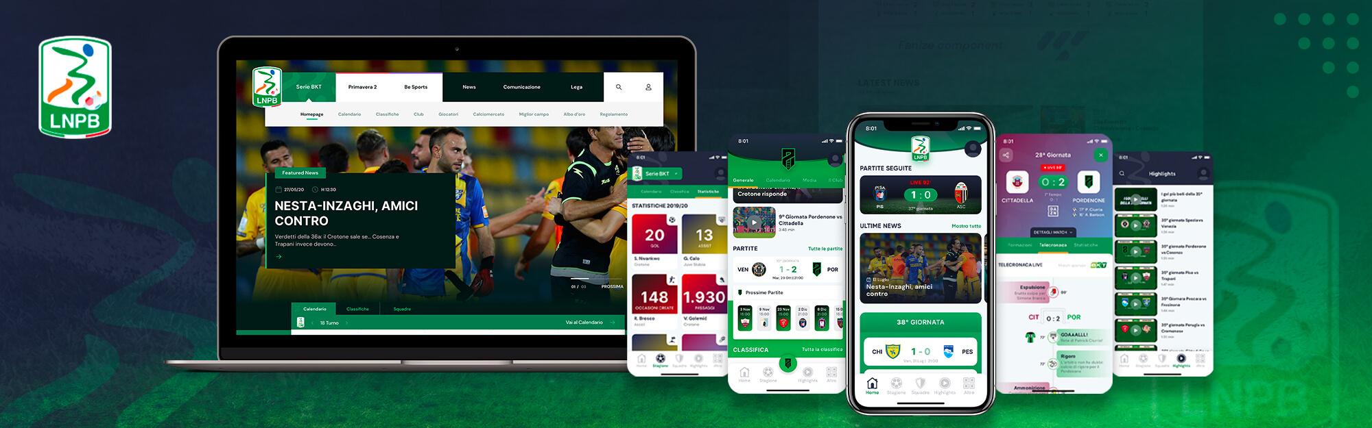 Lega B: presentate a Pisa la nuova versione dell'app e del sito internet realizzate da IQUII