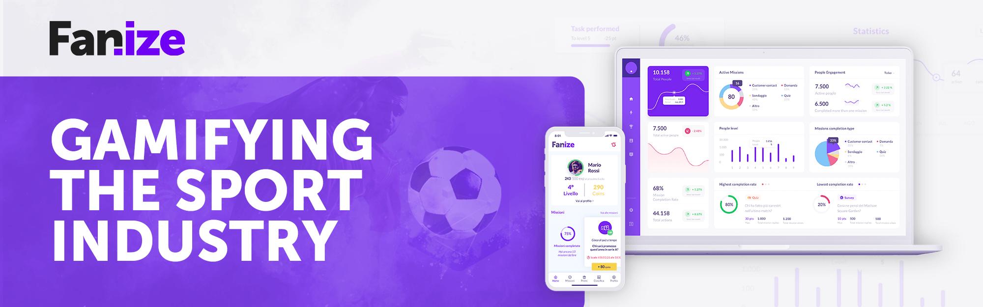 Fanize per lo sport: IQUII presenta la soluzione web e mobile per connettere squadre, fan e sponsor