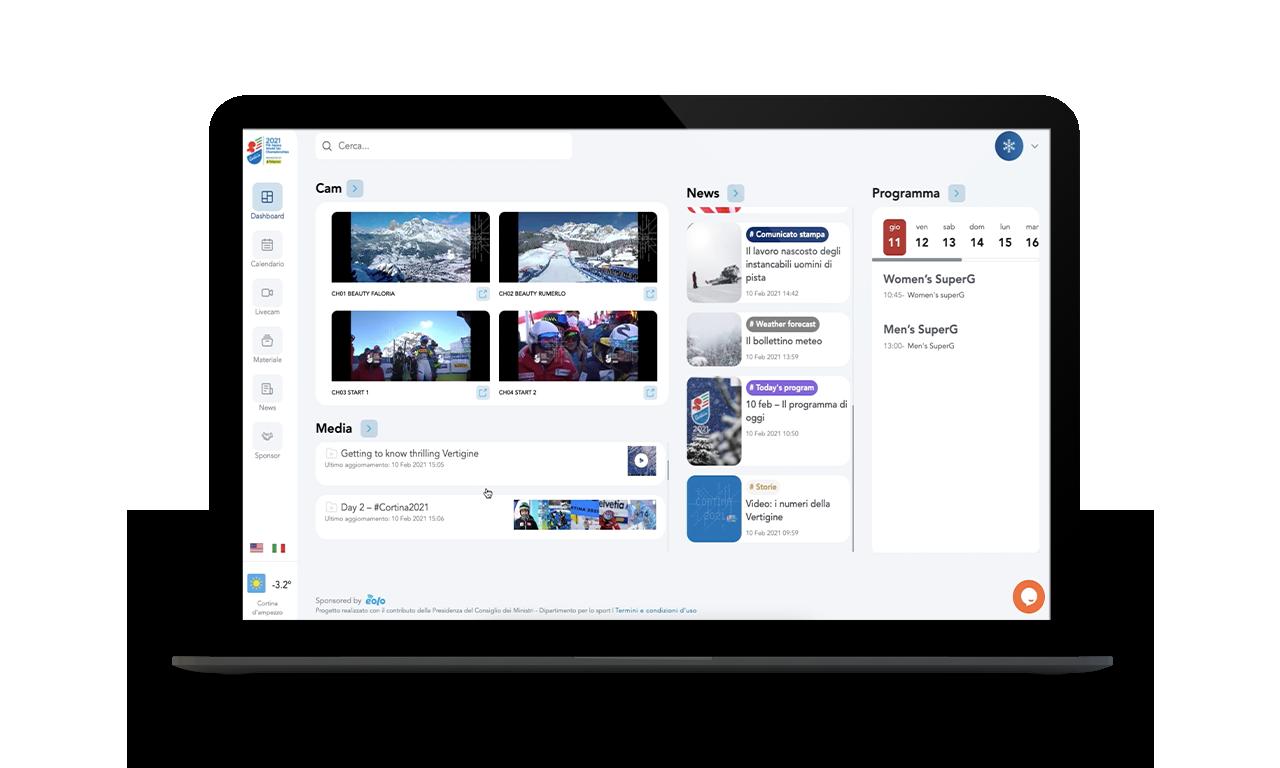Virtual Media Hub - Cortina 2021