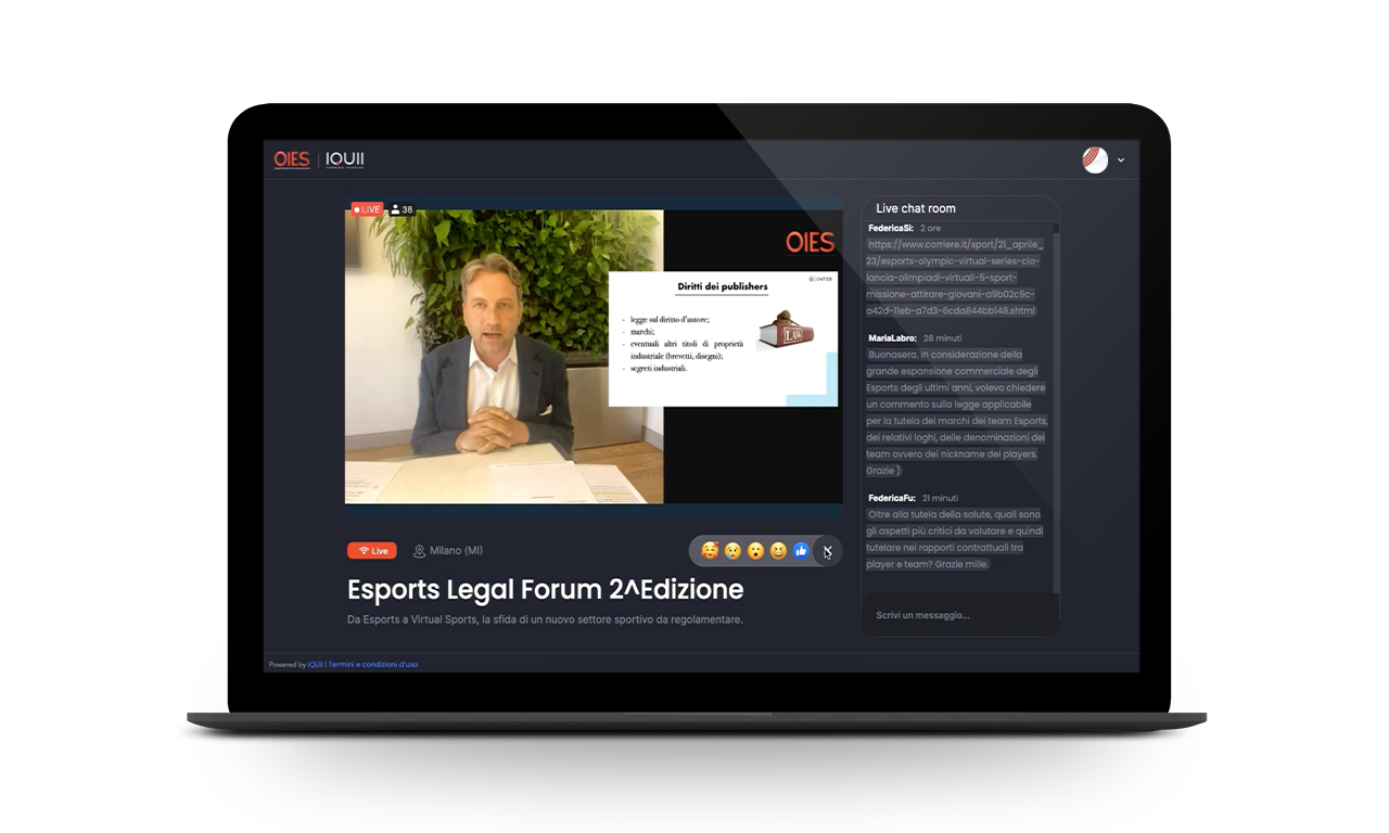 Virtual Media Hub - Osservatorio Italiano E-Sports