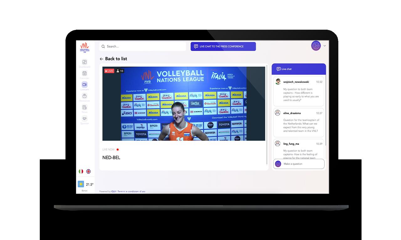 Virtual Media Hub - Volley Nations League