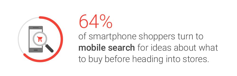 Shopping e ricerche su mobile